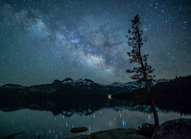 Night Sky By Kathy Barnhart