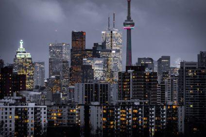 Toronto Canada Skyline at Night
