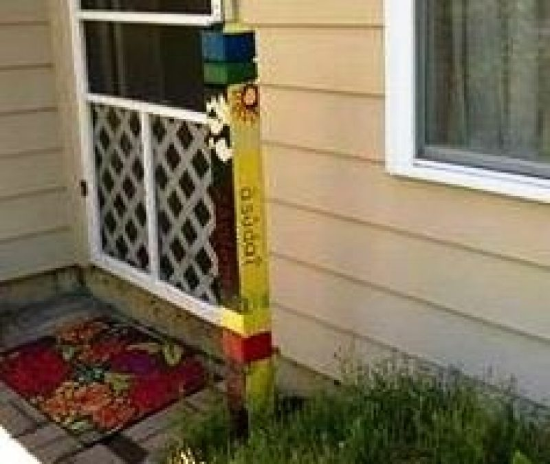 Picture of Peace Pole