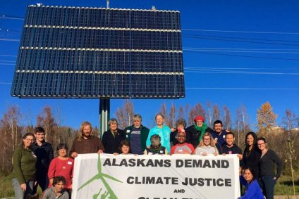 Alaskans Demand Climate Justice and Clean Energy