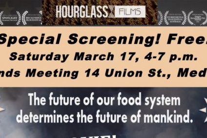 Example of Flyer for Sustainable movie screening