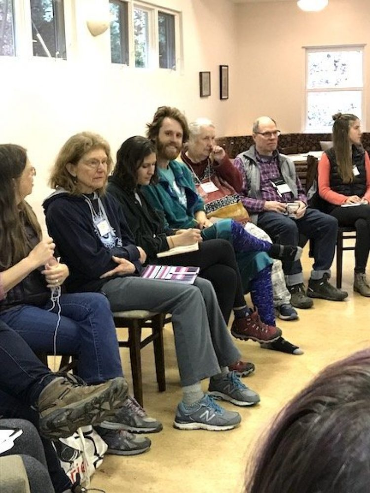 Participants at George Lakey Workshop