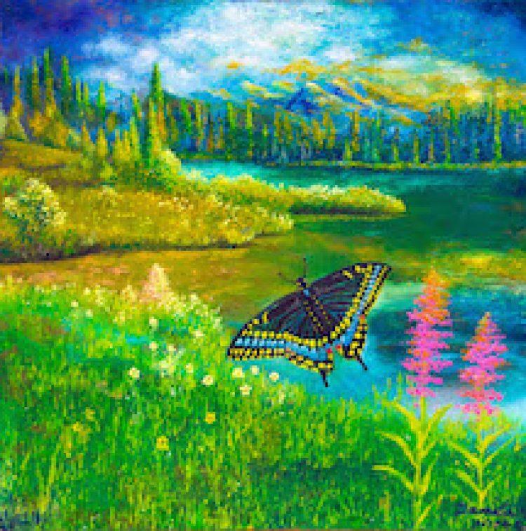 Black Butterfly By Damita Hicks