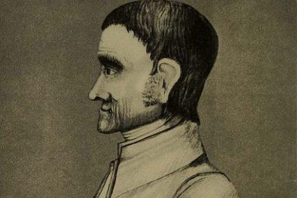 Drawing of John Woolman