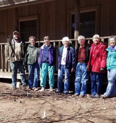 Fayetteville Friends Build Garden