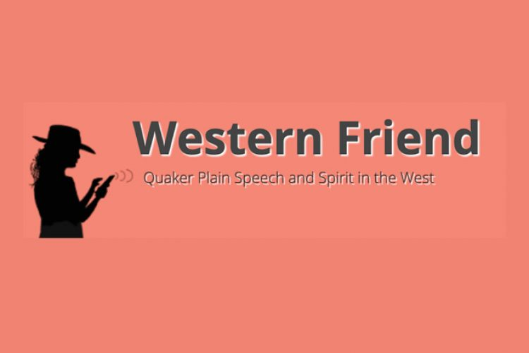 Western Friend Logo with Extra Pink Background